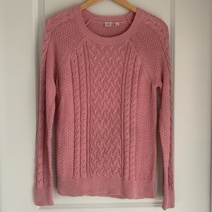 GAP For Good Cable Stitch Tunic Fisherman Sweater